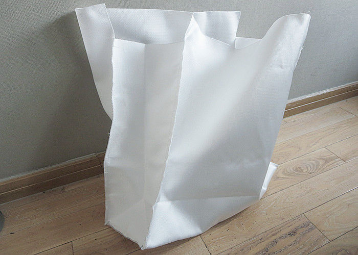 Woven / Non Woven Large Filter Bags Good Air Permeability 180*410mm Dimension