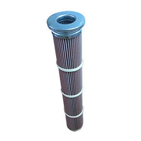 High Temperature Cellulose Filter Cartridges 1.0mm Thickness 5um Precision