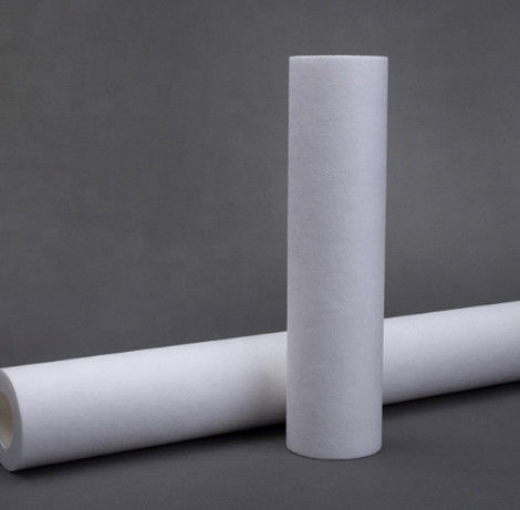 Spunbonded Membrane Supports Materials Depth Filter Cartridge For Industrial Hydraulic Fluids